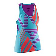 Womens Salming Race Singlet Sleeveless & Tank Technical Tops