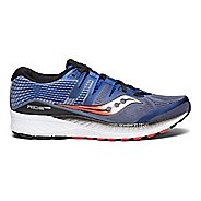 Mens Saucony Ride ISO Running Shoe - Blue/Red 9