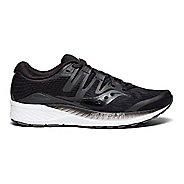 Womens Saucony Ride ISO Running Shoe - Black 7