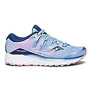 Womens Saucony Ride ISO Running Shoe - Blue/Purple 9.5