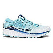 Womens Saucony Ride ISO Running Shoe - Black 5.5