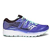 Womens Saucony Ride ISO Running Shoe - Purple/Aqua 11.5