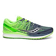 Mens Saucony Freedom ISO 2 Running Shoe - Grey/Slime 10