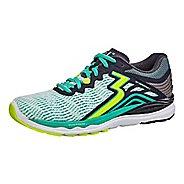 Womens 361 Degrees Sensation 3 Running Shoe - White/Ebony 11.5