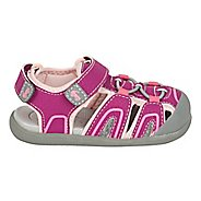 Girls See Kai Run Lincoln III Sandals Shoe - Magenta 5C
