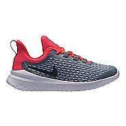 Kids Nike Renew Rival Running Shoe - Grey/Red 13C