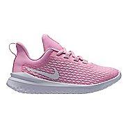 Kids Nike Renew Rival Running Shoe - Pink/White 13C