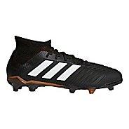 Kids adidas Predator 18.1 Firm Ground Cleated Shoe - Black/White/Infrared 11.5C