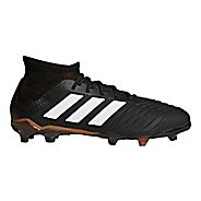 Kids adidas Predator 18.1 Firm Ground Cleated Shoe - Black/White/Infrared 13.5C