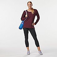 Womens R-Gear Luxe Fleece Long Sleeve Technical Tops
