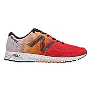 Mens New Balance 1400v6 Racing Shoe - White/Flame/Black 11