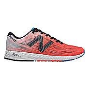 Womens New Balance 1400v6 Racing Shoe - Coral/Black/Blue 8