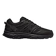 Mens New Balance T510v4 Trail Running Shoe - Black/Magnet 16