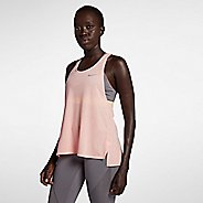 Womens Nike Miler Soft Lux Sleeveless & Tank Technical Tops - Storm Pink S