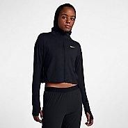 Womens Nike Element Full-Zip Hoodie Casual Jackets - Black M