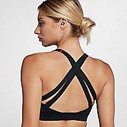 Womens Nike Impact Strappy Bras - Black M