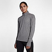 Womens Nike Element Top Half-Zips & Hoodies Technical Tops - Gunsmoke XS