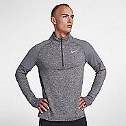 Mens Nike Element Top 2.0 Half-Zips & Hoodies Technical Tops - Gunsmoke S