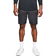 Mens Under Armour MK1 Inset Graphic Unlined Shorts - Charcoal/Black M