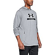 Mens Under Armour MK1 Terry Graphic Half-Zips & Hoodies Technical Tops