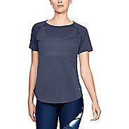 Womens Under Armour Whisperlight Short Sleeve Technical Tops