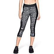 Womens Under Armour HeatGear Print Armour Capris Tights