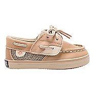 Girls Sperry Bluefish Crib Jr Casual Shoe - Linen/Oat 4C