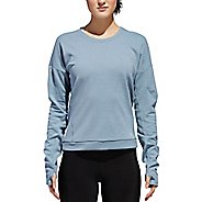 Womens Adidas Supernova Sweatshirt Long Sleeve Technical Tops