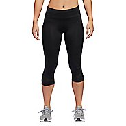 Womens Adidas How We Do 3/4 Capris Tights - Black M