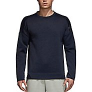 Mens Adidas ZNE Crew Long Sleeve Technical Tops
