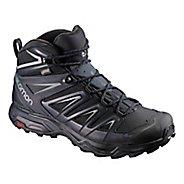 Mens Salomon X Ultra 3 MID GTX Hiking Shoe - Black Ink 8