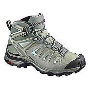 Womens Salomon X Ultra 3 MID GTX Hiking Shoe - Shadow Grey 12