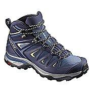 Womens Salomon X Ultra 3 MID GTX Hiking Shoe - Shadow Grey 11