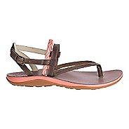 Womens Chaco Loveland Sandals Shoe - Stepped Peach 5