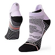 Womens Stance RUN GPS Camo No Show Tab Socks