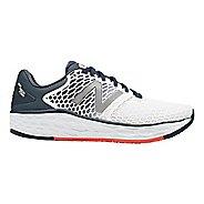 Mens New Balance Fresh Foam Vongo v3 Running Shoe - White/Petrol 11.5