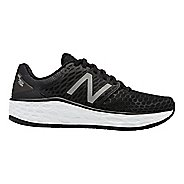 Womens New Balance Fresh Foam Vongo v3 Running Shoe - Black/White 10