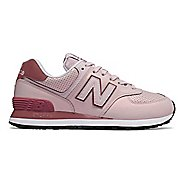Womens New Balance 574 Dark Sheen Casual Shoe