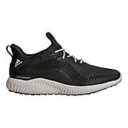 Womens adidas AlphaBounce 1 Running Shoe - Carbon/Chalk Pearl 10