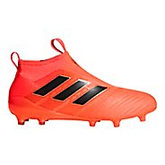 Mens adidas Ace 17+ Purecontrol Firm Ground Cleated Shoe - Orange/Black/Red 11