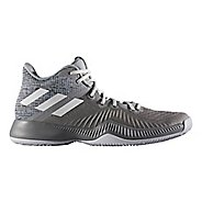 Mens adidas Mad Bounce Court Shoe - Grey/White/Grey 14