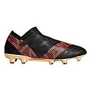 Mens adidas Nemeziz 18+ 360 Agility Firm Ground Cleated Shoe - Black/Black/Red 10