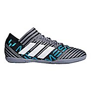 Mens adidas Nemeziz Messi Tango 18.3 Indoor Court Shoe - Grey/White/Black 11