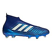 Mens adidas Predator 18+ Firm Ground Cleated Shoe - Ink/Green/Green 12