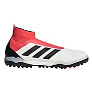 Mens adidas Predator Tango 18+ Turf Cleated Shoe - White/Black 11