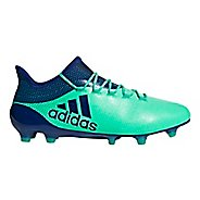 Mens adidas X 18.1 Firm Ground Cleated Shoe - Green/Ink/Green 10.5