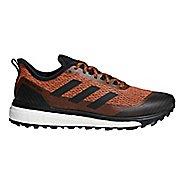 Mens adidas Response Trail Running Shoe - Orange/Black 8.5
