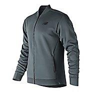Mens New Balance 247 Sport Track Running Jackets - Moontide S