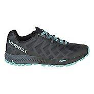 Womens Merrell Agility Synthesis Flex Trail Running Shoe - Black/Light Blue 6