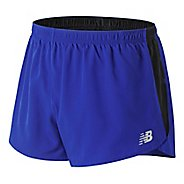 Mens New Balance Accelerate 3 inch Split Unlined Shorts